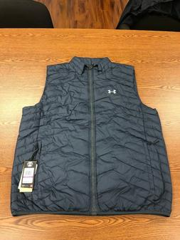 Under Armour Reactor 1300126-008 Dark Gray Vest Coldgear 2XL