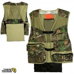 Scent Blocker Torched Turkey Hunting Vest M/L - RTXG Hunting