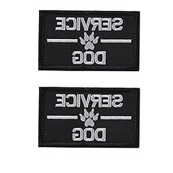 GrayCell Service Dog Embroidered Tactical Morale Patch for D