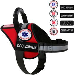 Service Dog - Therapy Dog - ESA Dog - Vest Waterproof Harnes