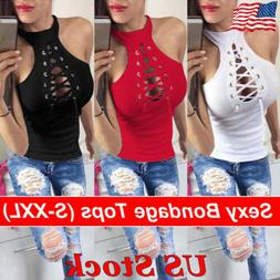 Sexy Women Ladies Summer Vest Top Sleeveless Blouse Casual T