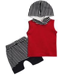 Summer Toddler Kids Baby Boy <font><b>Vest</b></font> Shirt