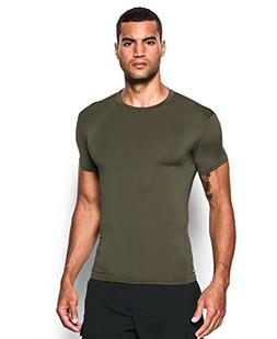 Under Armour Men's Tactical HeatGear Compression, Marine Od