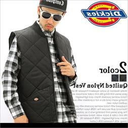 Dickies TE242 Diamond Quilted Nylon Vest Black/Navy Blue, M-