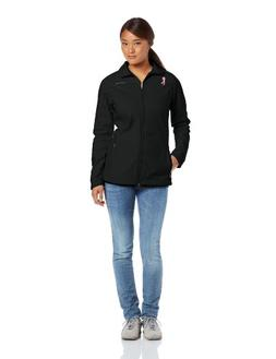 Columbia Women's Tested Tough In Pink Softshell, Black, Coal