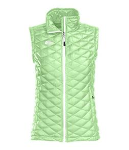The North Face Women's Thermoball Vest Green Ash Medium