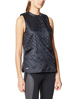 Under Armour UA Aerial Speed Pinnacle Quilted Vest SM Black
