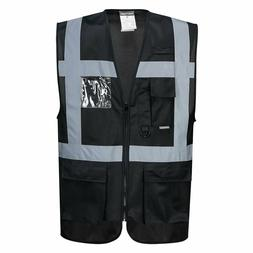 Portwest UF476 Iona Executive Vest for extra visibility in B