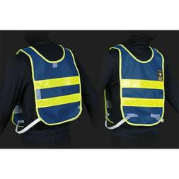 US Army Reflective Vest Drill Sergeant Vest Blue Mesh with L
