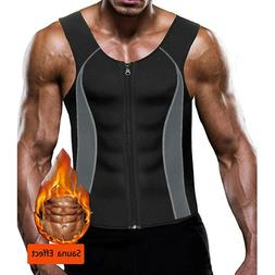 US Men's Weight Loss Workout Neoprene Body Shapers Sweat Sau