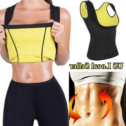 US Sauna Suit Effect Abdominal Waist Trainer Plus Size Hot B