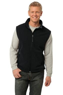 Port Authority Men's Value Fleece Vest M Black