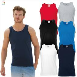 valueweight athletic vest classic fit sleeveless sports