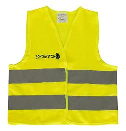High Visibility Kids Safety Yellow Vest for Construction Cos