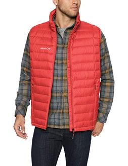 Columbia Men's Voodoo Falls 590 TurboDown Vest, Red Spark, X