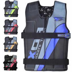 RDX Weighted Weight Vest Adjustable Training Fitness Workout