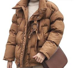 Winter Women Jacket Plus Size Thicken Outerwear Solid Casual