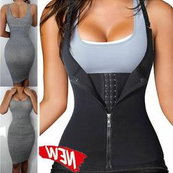 Women Neoprene Sauna Sweat Waist Trainer Vest For Weight Los