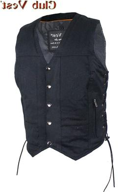 Women's Black Denim Gun Pocket Vest by Club Vest® for Mount