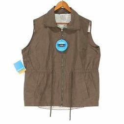 Columbia Women's Brown Arch Cape III Full Zip Vest - NWT - 2