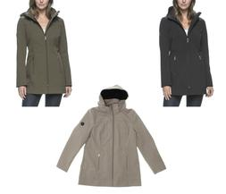 Andrew Marc Women's Long Softshell Jacket - Select size/colo