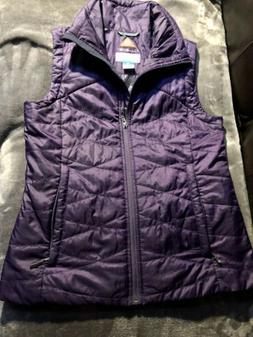 Columbia Women's Omni-Heat Quilted Vest Insulated Packable S