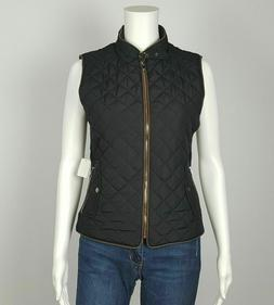 Women's Padding Vest Jacket Lightweight Quilted Top Outwear