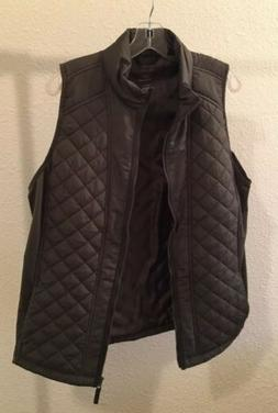 Maurices Women's Plus Size 4 Pine leaf Puffer Vest NWT