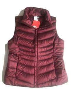 The North Face WOMEN TNF GARNET RED Aconcagua II VEST Jacket