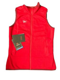 Womens ARCTERYX KYANITE VEST red size Large Brand New