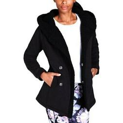 Ideology Womens Black Coats, Jackets & Vests Sz 2XL $69.5 TI