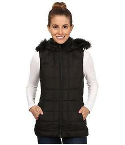 THE NORTH FACE WOMENS GOTHAM VEST HOODED INSULATED 550 DOWN