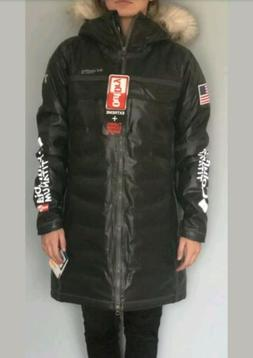 womens outdry ex diamond heatzone long parka