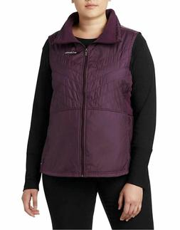 Columbia Womens Plus Size Mix It Around II Vest Dark Cherry