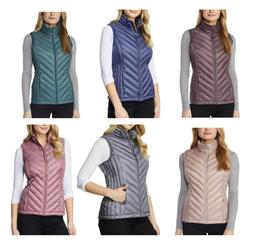 womens quilted packable lightweight vest