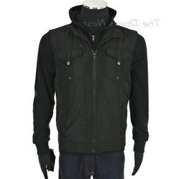 HELIX Young Men's SMALL Black OUTERWEAR VEST & BLACK HOODIE